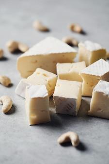 Kaas in stukjes
