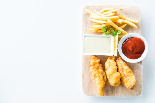 Kabeljauw witte diner vis eten
