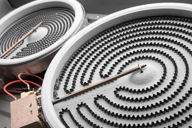 Kachel voor elektrische fornuizen en oven