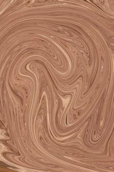 Kaki vloeibare kunst marmering verf getextureerde achtergrond