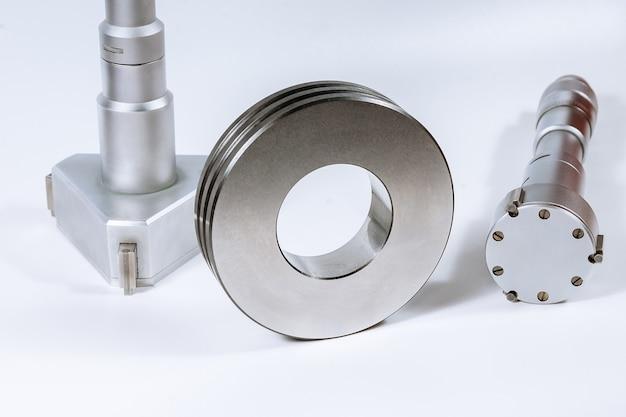 Kalibratie micrometer apparaat voor het nauwkeurig meten van de diameter van het gat