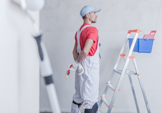 Kamer schilder en zijn werk