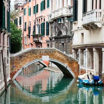 Kanaal in venetië, italië