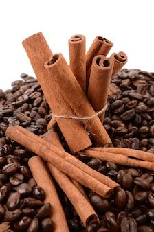 Kaneel en koffie