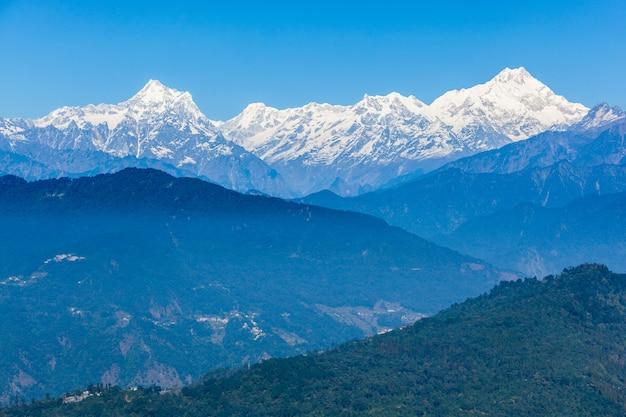 Kangchenjunga uitzicht, gangtok