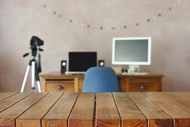 Kantoor creatief werk fotografisch en redactieteam