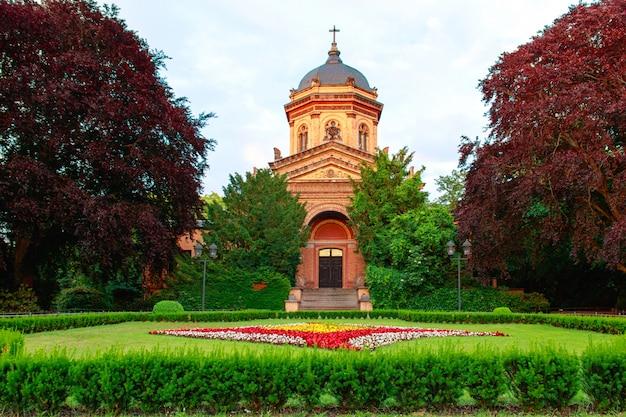 Kapel van zuid-begraafplaats in maagdenburg