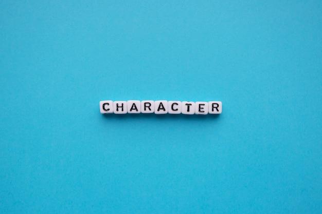 Karakter woord