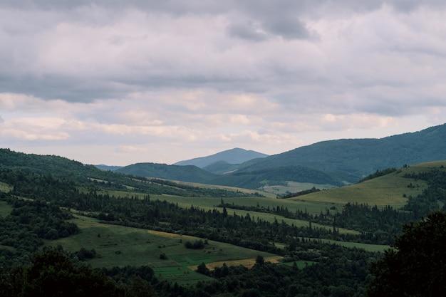 Karpaten in oekraïne, landschapsmening