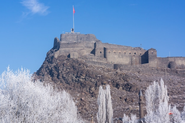 Kars citadel, kars - turkije