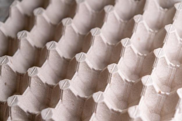 Kartonnen verpakking met eicellen