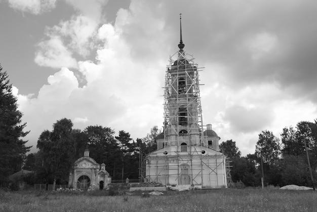 Kathedraal in de steiger