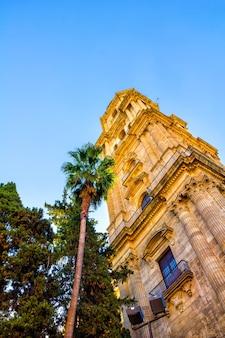 Kathedraal in malaga andalusië spanje
