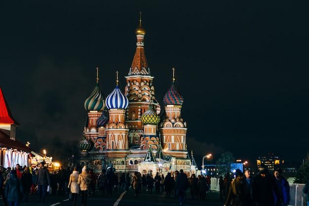 Kathedraal in moskou, rusland