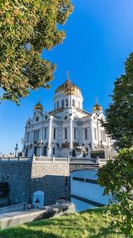 Kathedraal van christus de verlosser moskou rusland