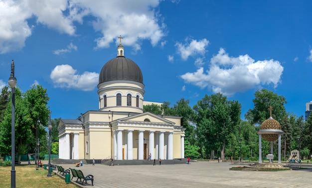 Kathedraal van de geboorte van christus in chisinau, moldavië