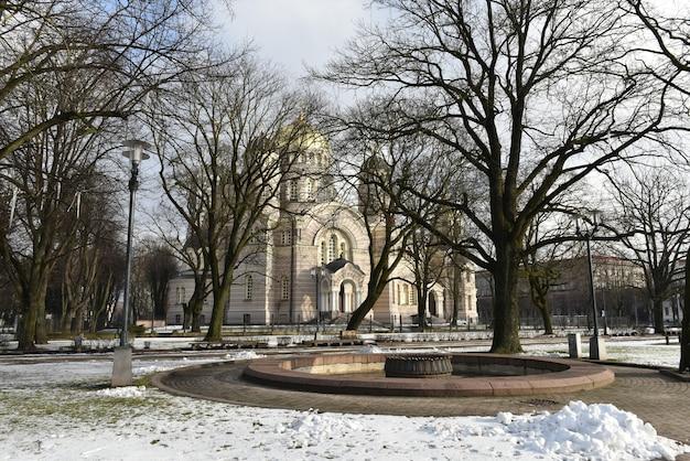 Kathedraal van de geboorte van christus kerk riga letland