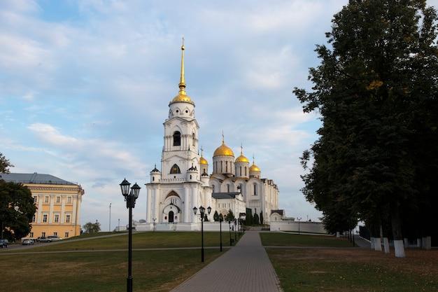 Kathedraal van de veronderstelling in vladimir rusland