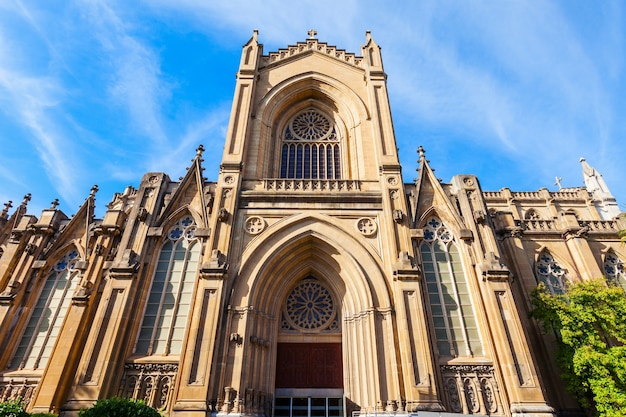 Kathedraal van maria inmaculada de vitoria is een rooms-katholieke kathedraal in vitoria-gasteiz, baskenland, spanje