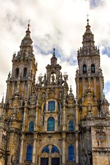Kathedraal van santiago de compostela spanje