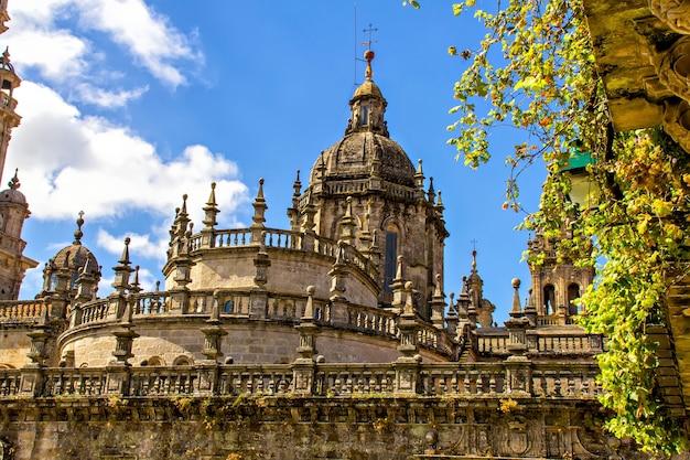 Kathedraal van santiago de compostela, spanje