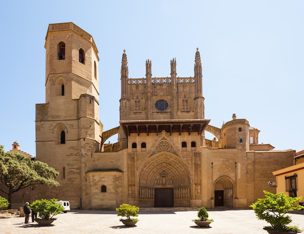 Kathedraal van transfiguratie van de heer in huesca