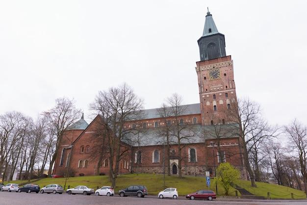 Kathedraal van turku in finland
