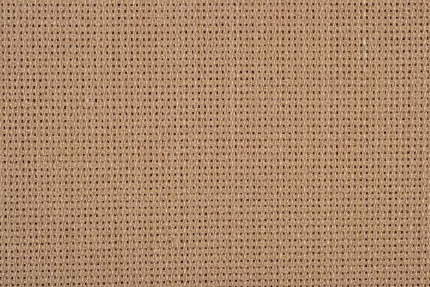 Katoenen canvas voor handwerk als achtergrond