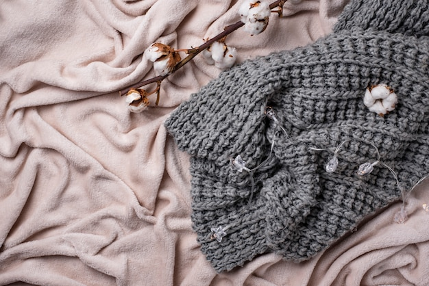 Katoenen tak en lichte deken