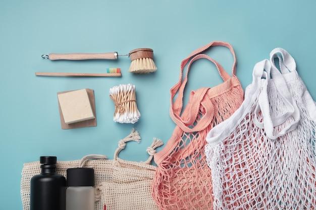 Katoenen tassen, herbruikbare waterflessen en milieuvriendelijke accessoires