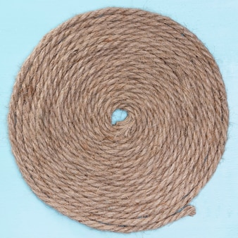 Katoenen touw natuurlijk weven