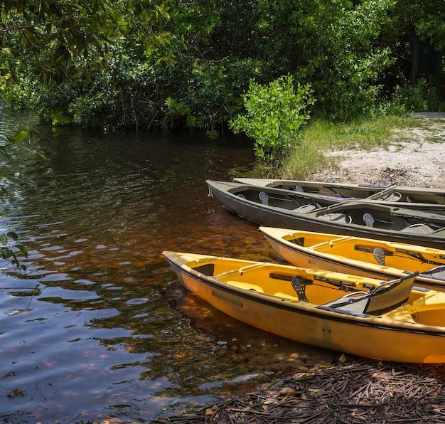 Kayakin een nationaal park