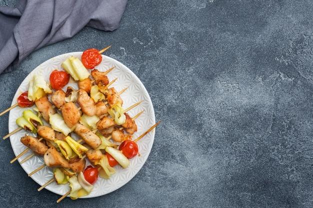 Kebab kip