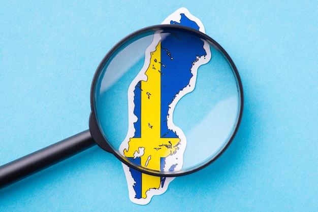 Kennis opdoen van zweden studerende landen