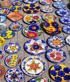 Keramiek uit het mediterrane spanje