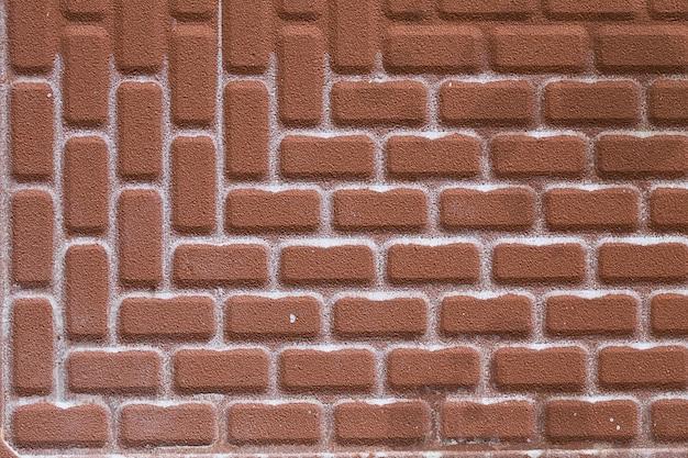 Keramische tegel baksteen abstracte mozaïek achtergrondstructuur