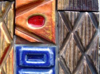 Keramische tegels, aardewerk
