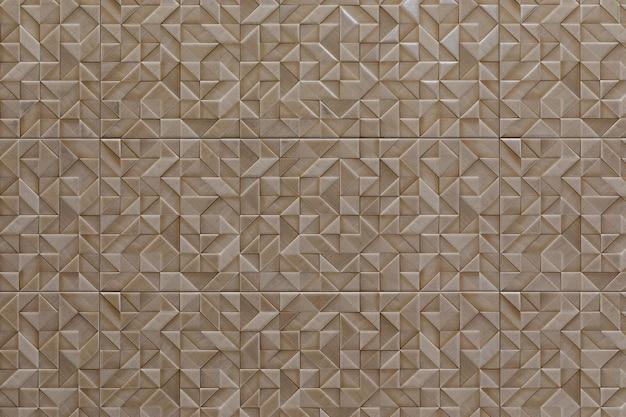 Keramische tegels met mozaïekpatronen van verschillende kleuren close-up, desktop screensaver.