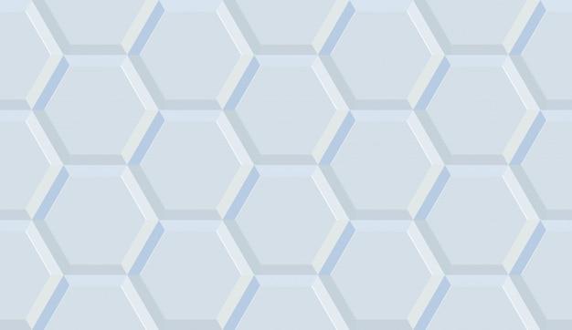 Keramische tegels zeshoek naadloze illustratie