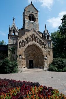 Kerk in vajdahunjad-kasteel