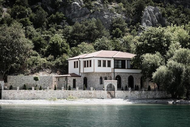 Kerk moeder gods zahumska, ohrid lake, macedonië