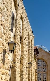 Kerk van alle volkeren op de olijfberg in jeruzalem, israël