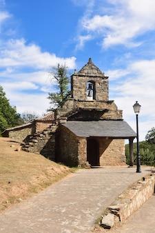 Kerk van flechas, castilië en leon, spanje