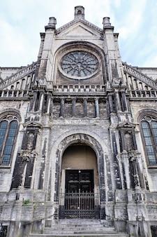 Kerk van saint catherine in brussel, belgië
