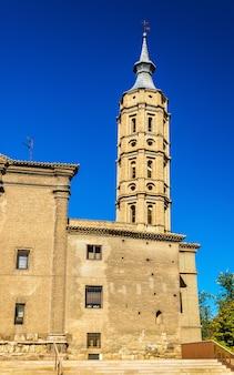 Kerk van san juan de los panetes in zaragoza aragon spanje