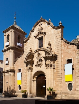 Kerk van santa eulalia. murcia