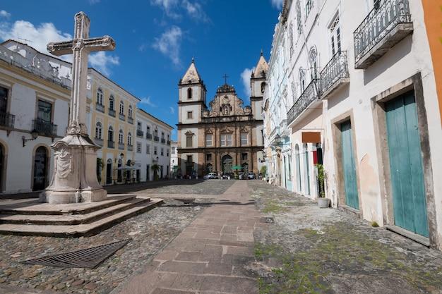 Kerk van sao francisco in pelourinho salvador bahia brazilië.