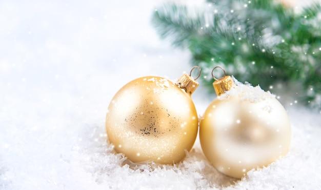 Kerst achtergrond en prachtig decor