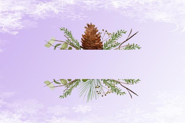 Kerst achtergrond textuur ontwerpconcept