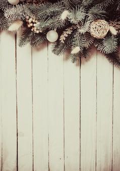 Kerst besneeuwd randontwerp